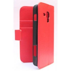 Galaxy Ace 3 punainen puhelinlompakko