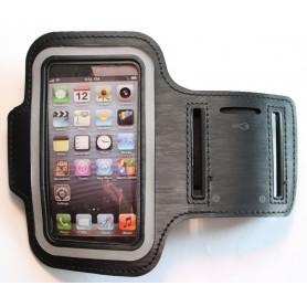 Apple iPhone 5 musta käsivarsikotelo.