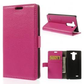 LG G3 hot pink puhelinlompakko
