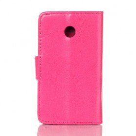 Huawei Ascend Y330 hot pink puhelinlompakko