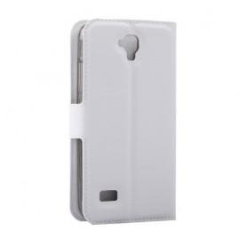 Huawei Y5 valkoinen puhelinlompakko