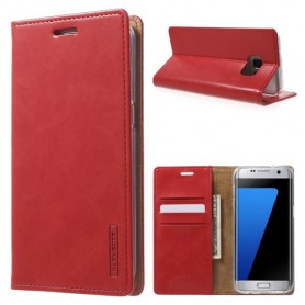 Samsung Galaxy S7 edge punainen puhelinlompakko