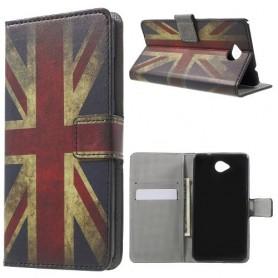 Lumia 650 Iso-Britannian lippu puhelinlompakko