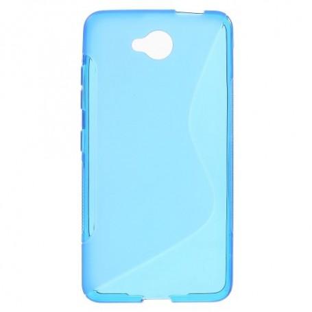 Lumia 650 sininen silikonisuojus.