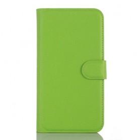 Lumia 650 vihreä puhelinlompakko