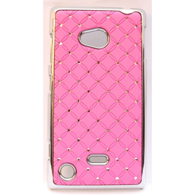 Nokia Lumia 720 hot pink luksus kuoret