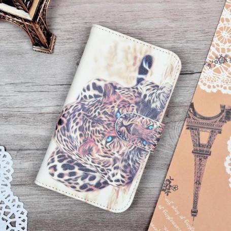 Lumia 820 leopardi puhelinlompakko