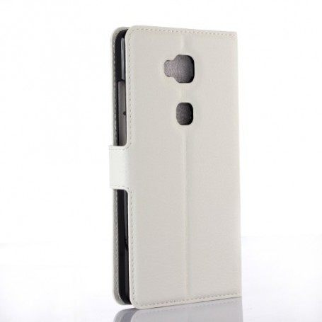 Huawei Honor 5x valkoinen puhelinlompakko