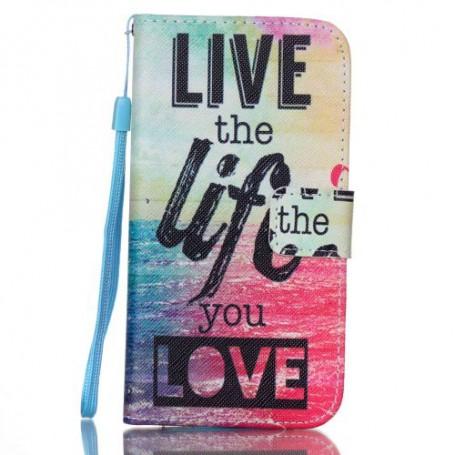 Galaxy S7 live life puhelinlompakko