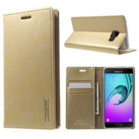 Samsung Galaxy A5 2016 samppanjan kultainen puhelinlompakko