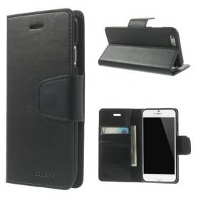 Apple iPhone 6s musta puhelinlompakko