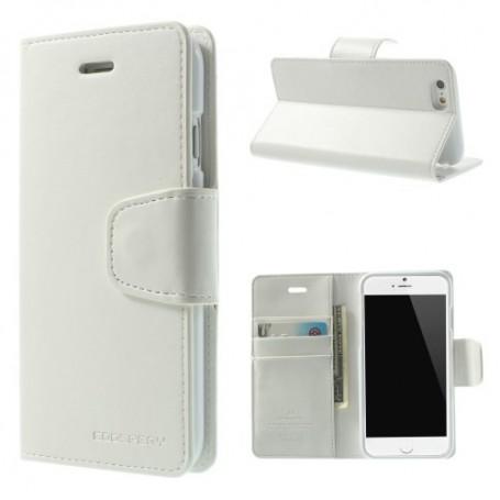 Apple iPhone 6s valkoinen puhelinlompakko