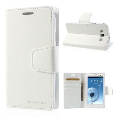 Samsung Galaxy S3 valkoinen puhelinlompakko