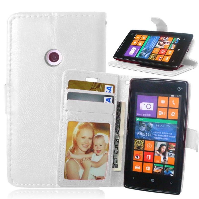 Lumia 520 valkoinen lomapkkokotelo.