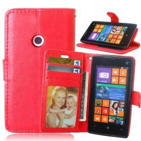 Lumia 520 punainen lomapkkokotelo.