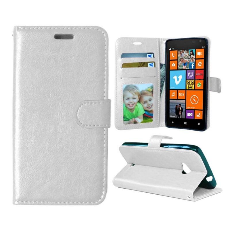 Lumia 625 valkoinen lompakkokotelo
