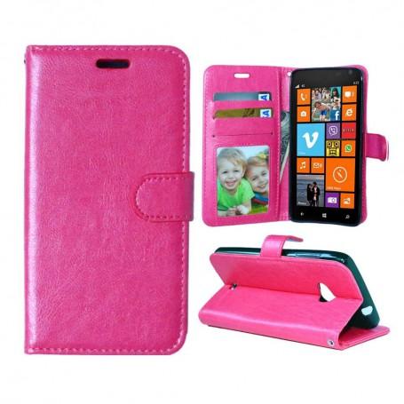 Lumia 625 hot pink lompakkokotelo