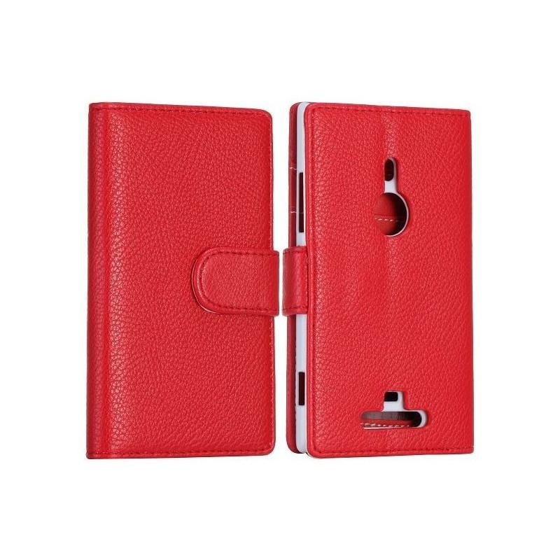 Lumia 925 punainen lompakkokotelo
