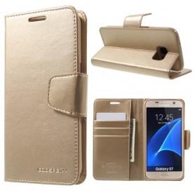 Samsung Galaxy S7 kullan värinen puhelinlompakko