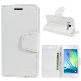 Samsung Galaxy A3 valkoinen puhelinlompakko