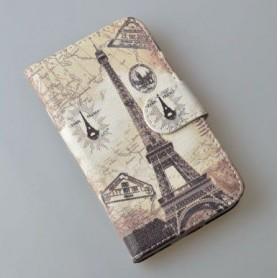 Galaxy J5 Eiffel-torni puhelinlompakko