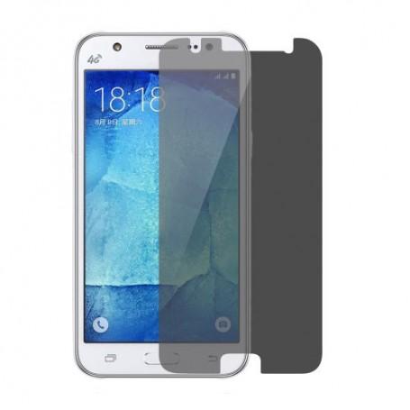 Samsung Galaxy J5 tummennettu karkaistu lasikalvo.