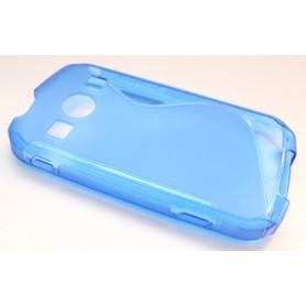 Galaxy Xcover 2 sininen silikoni suojakuori.