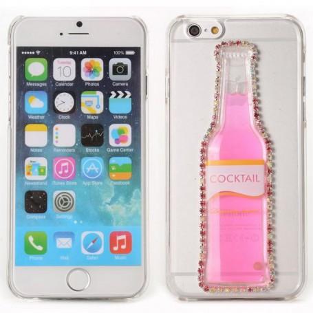 iPhone 6 pinkki cocktail pullo kuoret