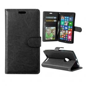 Lumia 830 musta puhelinlompakko