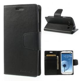 Samsung Galaxy S3 musta puhelinlompakko