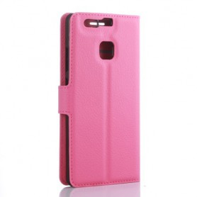 Huawei P9 pinkki puhelinlompakko
