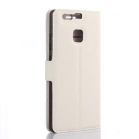 Huawei P9 valkoinen puhelinlompakko