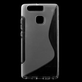 Huawei P9 läpinäkyvä silikonisuojus.