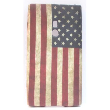 Lumia 800 Yhdysvaltojen lippu silikonisuojus.