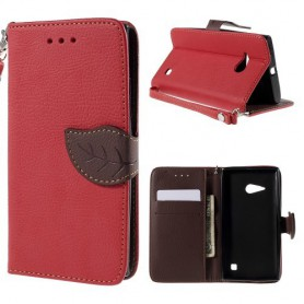 Nokia Lumia 735 punainen puhelinlompakko