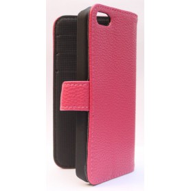 Apple iPhone 5c hot pink puhelinlompakko