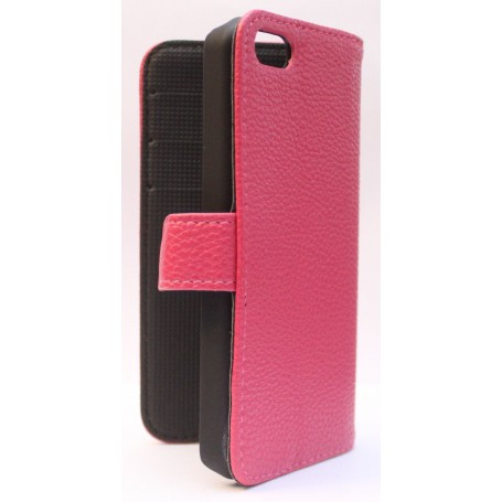 Apple iPhone 5c hot pink puhelinlompakko