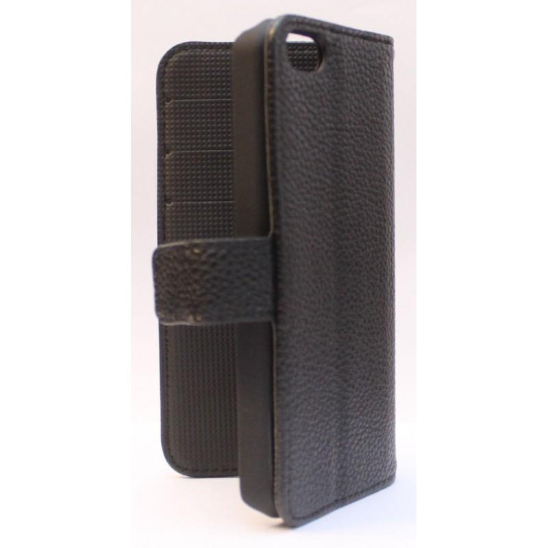 Apple iPhone 5c musta puhelinlompakko