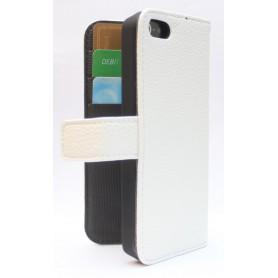 Apple iPhone 5c valkoinen puhelinlompakko