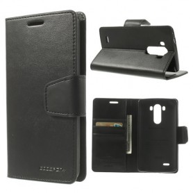 LG G3 musta puhelinlompakko