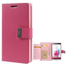 LG G3 pinkki puhelinlompakko