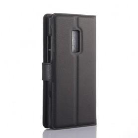 OnePlus 2 musta puhelinlompakko