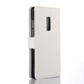 OnePlus 2 valkoinen puhelinlompakko