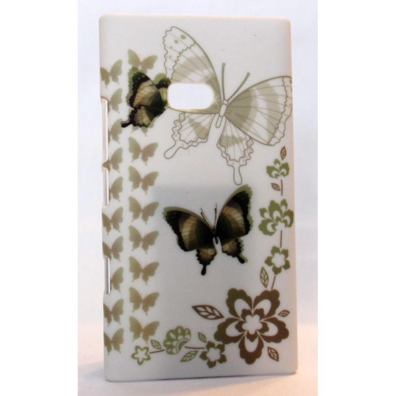 Lumia 900 suojakuori perhosia.