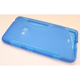 Lumia 625 sininen silikonisuojus.