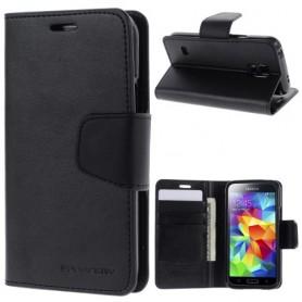 Samsung Galaxy S5 mini musta puhelinlompakko