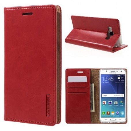 Samsung Galaxy J5 2016 punainen puhelinlompakko
