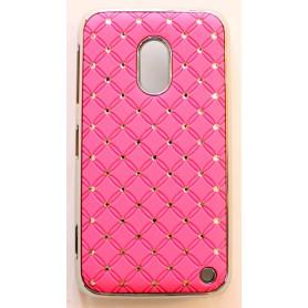 Nokia Lumia 620 hot pink luksus kuoret