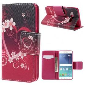 Samsung Galaxy J5 2016 sydän puhelinlompakko