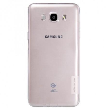 Samsung Galaxy J5 2016 ultra ohuet läpinäkyvät kuoret.